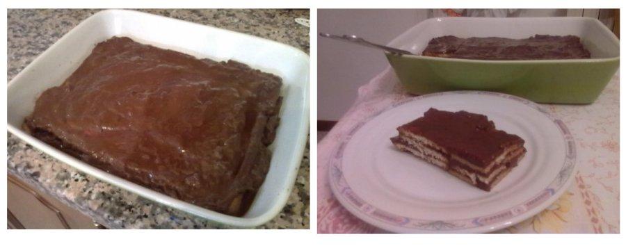 Torta con budino al cioccolato e caffè | Blumannaro.net